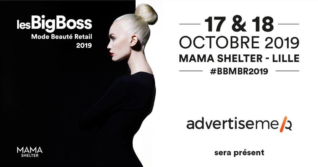 Advertise me participe à la verticale Mode Beauté & Retail des BigBoss