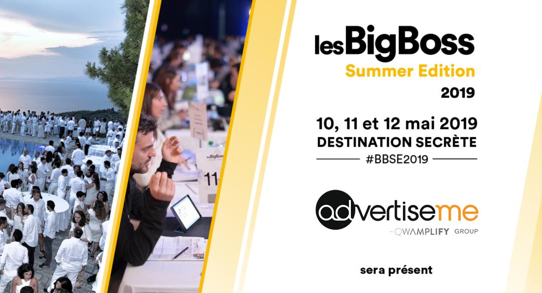 Advertise me participe à la Bigboss summer 2019 qui se tiendra en Grèce !