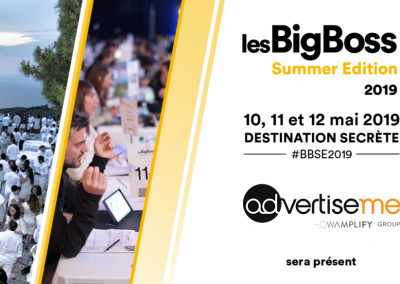 Advertise me participe à la Bigboss summer 2019 qui se tiendra en Grèce !